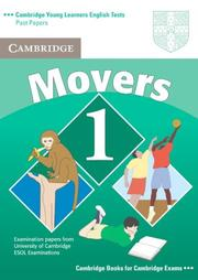 Cover of: Cambridge Young Learners English Tests Movers 1 Student's Book
