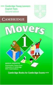 Cover of: Cambridge Young Learners English Tests Movers 1 Audio Cassette