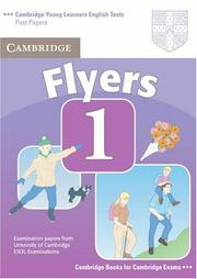 Cover of: Cambridge Young Learners English Tests Flyers 1 Student's Book