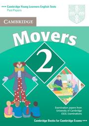 Cover of: Cambridge Young Learners English Tests Movers 2 Student