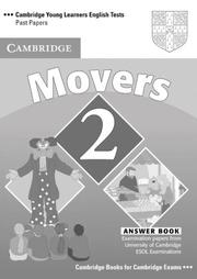 Cover of: Cambridge Young Learners English Tests Movers 2 Answer Booklet