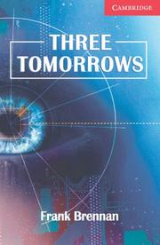 Cover of: Three Tomorrows