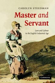 Cover of: Master and Servant | Carolyn Steedman