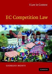 Cover of: EC Competition Law (Law in Context)