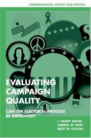 Cover of: Evaluating campaign quality |