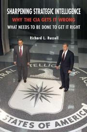 Cover of: Sharpening Strategic Intelligence | Richard L. Russell