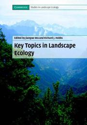 Key Topics in Landscape Ecology (Cambridge Studies in Landscape Ecology)