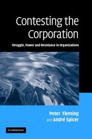 Contesting the Corporation by Peter Fleming, André Spicer