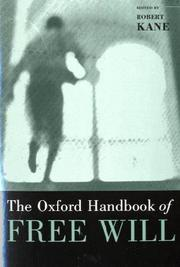 Cover of: The Oxford Handbook of Free Will | Robert Kane