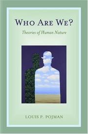 Cover of: Who Are We?: theories of human nature