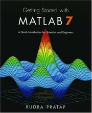 Cover of: Getting Started with MATLAB 7