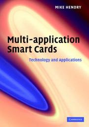 Cover of: Multi-application Smart Cards | Mike Hendry