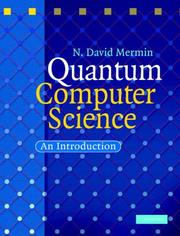 Quantum Computer Science by N. David Mermin