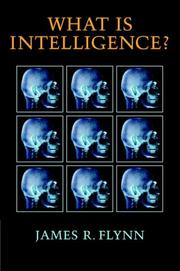 Cover of: What is Intelligence?