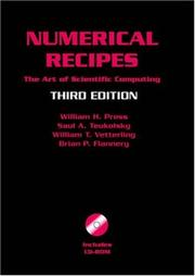 Numerical Recipes with Source Code CD-ROM 3rd Edition by William H. Press, Saul A. Teukolsky, William T. Vetterling, Brian P. Flannery