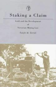 Cover of: Staking a claim