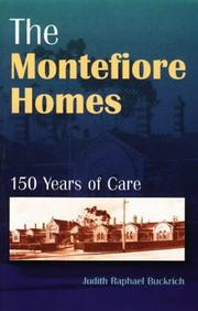 Cover of: The Montefiore Homes