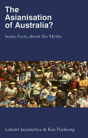Cover of: The Asianisation of Australia?