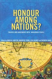 Cover of: Honour among nations |