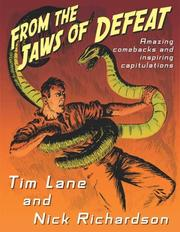 Cover of: From the jaws of defeat | Tim Lane