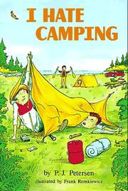 Cover of: I hate camping