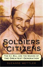 Cover of: Soldiers to Citizens