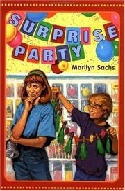Cover of: Surprise party
