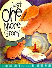 Cover of: Just one more story