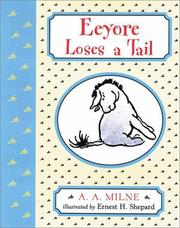 Cover of: Eeyore loses a tail