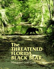 Cover of: The threatened Florida black bear