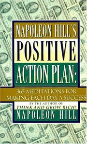 Cover of: Napoleon Hill's positive action plan