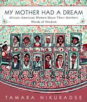 Cover of: My mother had a dream |