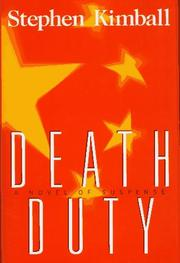 Cover of: Death duty