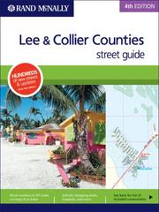 Cover of: Rand McNally 4th Edition Lee & Collier Counties street guide |