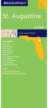 Cover of: Rand Mcnally St Augustine: Florida (Rand McNally Folded Map: Cities) |
