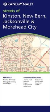 Cover of: Rand Mcnally Kinston, New Bern, Jacksonville & Morehead City, North Carolina (Rand McNally Folded Map: Cities) |