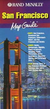 Rand McNally San Francisco Map Guide (Mapguide)