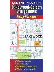 Cover of: Lakewood/Golden/Wheat Ridge | Rand McNally