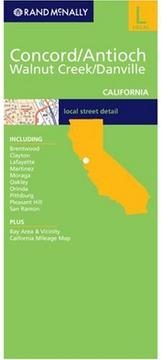 Cover of: Concord/ Antioch/ Walnut Creek/ Danville | Rand McNally
