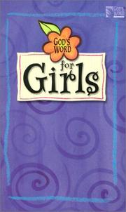 Cover of: God's Word for girls