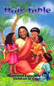 Cover of: Holy Bible Illustrated Especially for Children of Color |