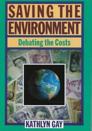 Cover of: Saving the environment: debating the costs