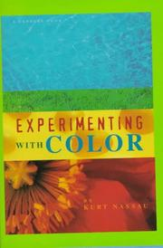 Cover of: Experimenting with color