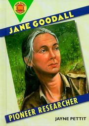 Cover of: Jane Goodall
