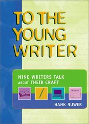 Cover of: To the young writer