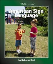 Cover of: American Sign Language | Deborah Kent