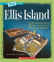 Cover of: Ellis Island