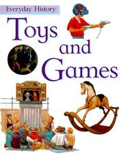 Cover of: Toys and games