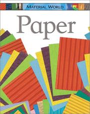Cover of: Paper (Material World)