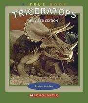 Cover of: Triceratops